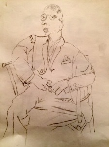 A drawing my mamaw did.
